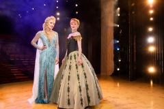 Caroline Bowman as Elsa and Caroline Innerbichler as Anna (photo by Matthew-Murphy for MurphyMade)