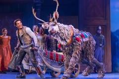 Mason Reeves (Kristoff) and Collin Baja (Sven) in Frozen North American Tour - photo by Deen van Meer
