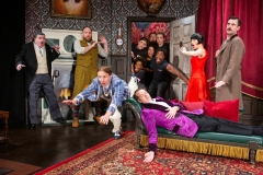 The Play That Goes Wrong National Tour (Photo by Jeremy Daniel)