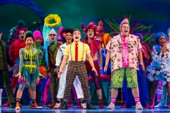 The Company of The SpongeBob Musical Photo by Jeremy Daniel